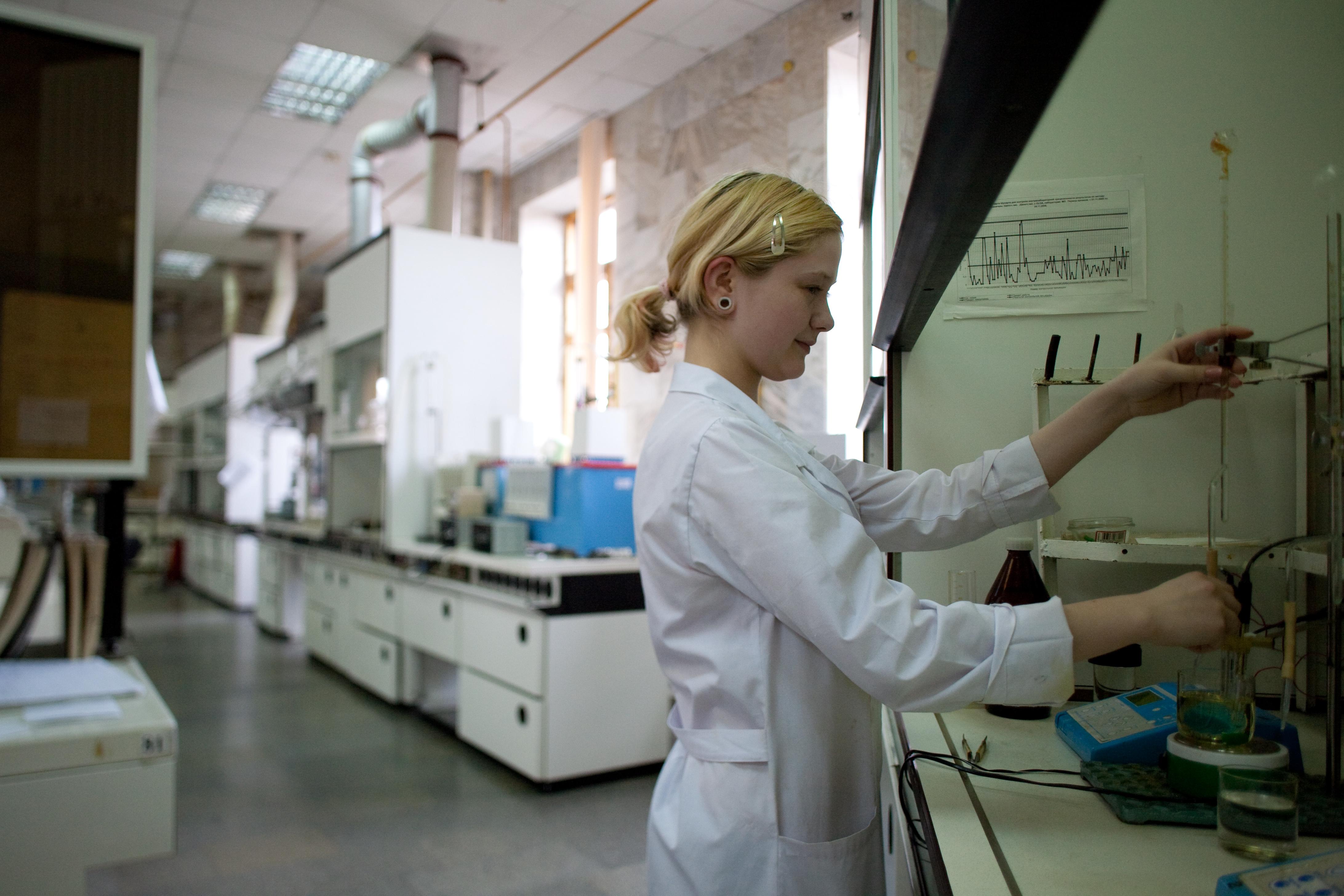 дехтерман а лаборант нефтеперерабатывающего завода