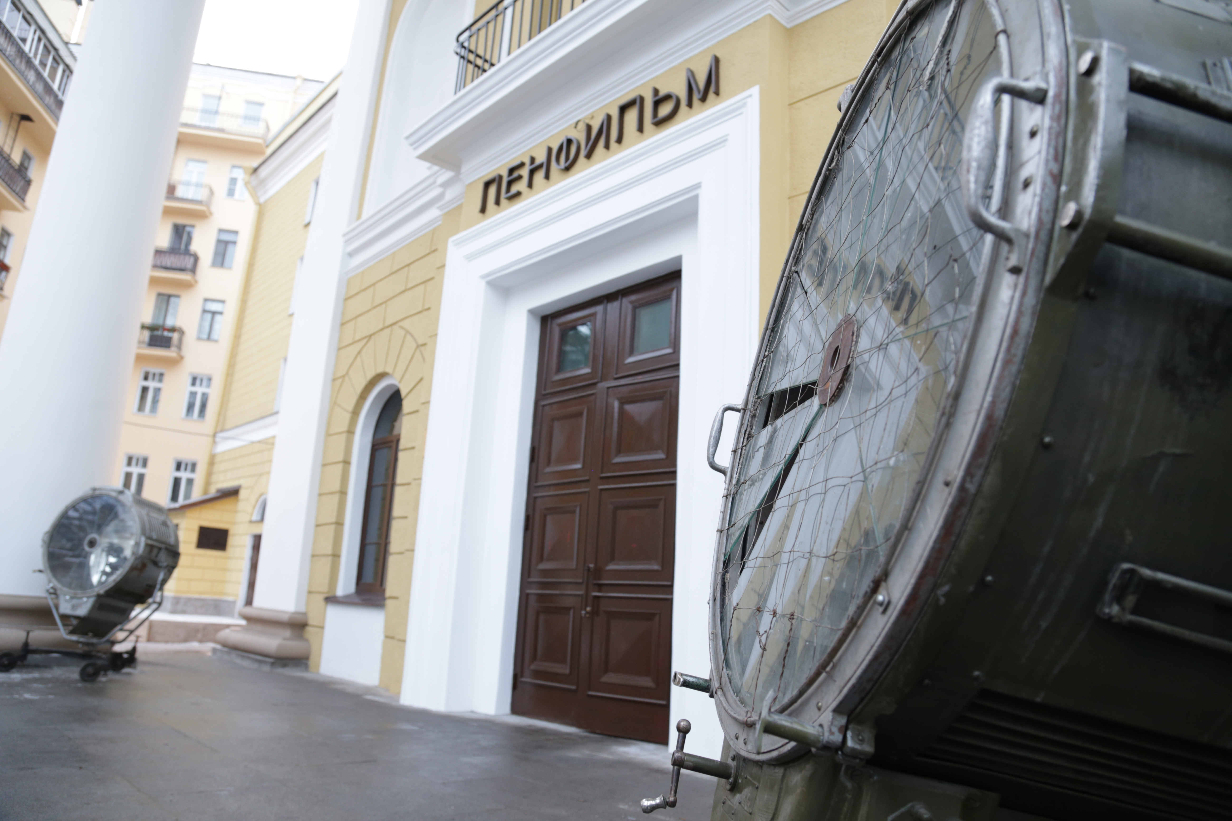 Минкультуры РФ займётся развитием питерского «Ленфильма»
